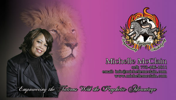 Michelle McClain Business Card